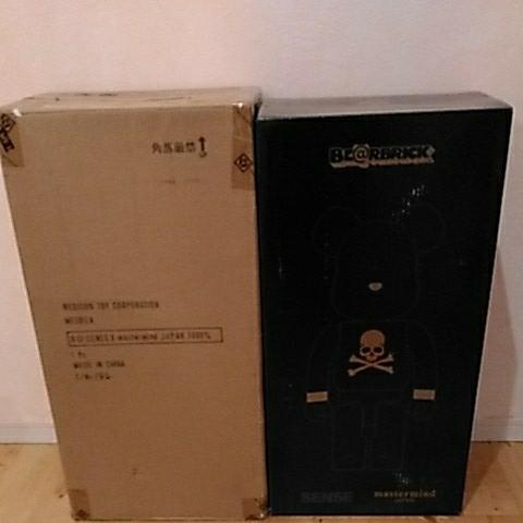 BLACK SENSE MARKET × mastermind JAPAN BE@RBRICK 1000% マスターマインド ジャパン ベアブリック MEDICOM TOY kaws bape _画像8