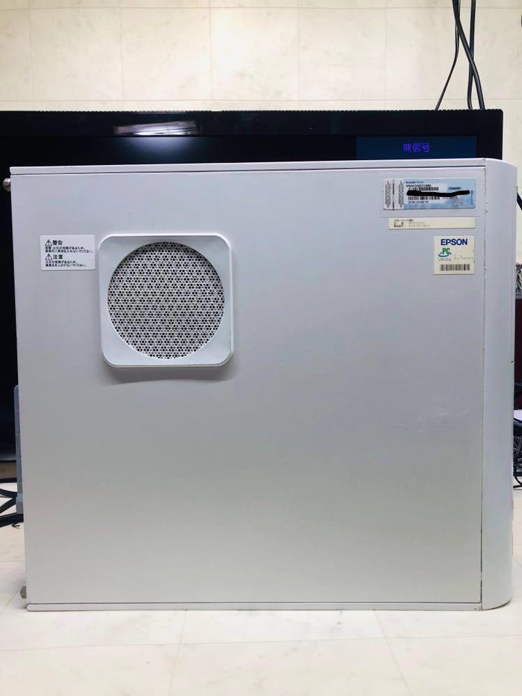 高速SSD120GB◎HDD3TB付き◎高速 第3世代Corei7-3770K-3.5Ghz◎メモリ12GB◎HD6570-1GBグラフィックボード◎EPSON-ENDEAVOR-MR4300E_画像2