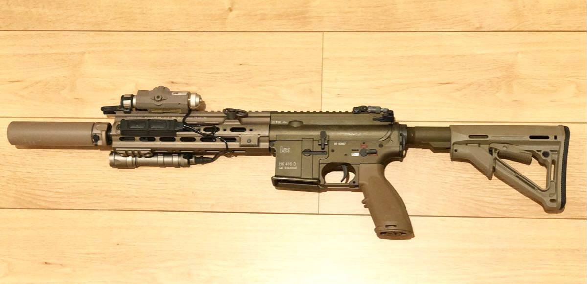 VFChk416 Delta specification electric gun option attaching