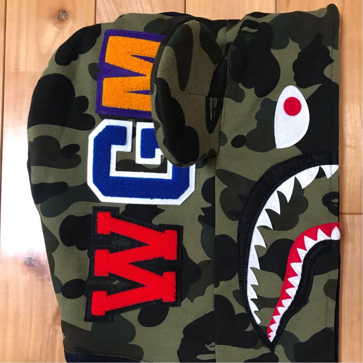 ★新品★ ベアブリック シャーク パーカー L shark full zip hoodie a bathing ape bape エイプ ベイプ medicom toy メディコムトイ WGM_画像3