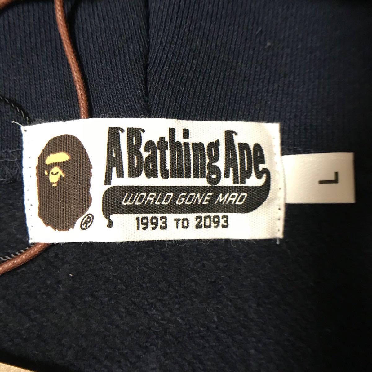 ★新品★ ベアブリック シャーク パーカー L shark full zip hoodie a bathing ape bape エイプ ベイプ medicom toy メディコムトイ WGM_画像7