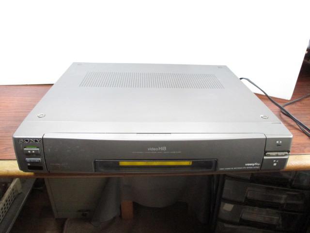 ソニー Hi-8ビデオデッキ EV-S1100 ジャンク