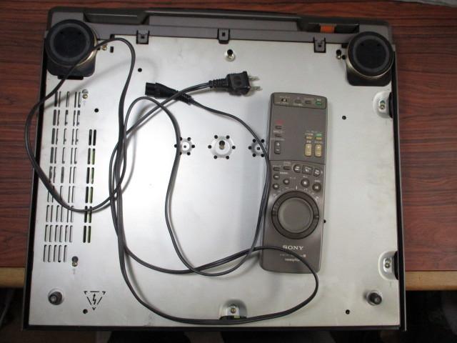 ソニー Hi-8ビデオデッキ EV-S1100 ジャンク_画像8