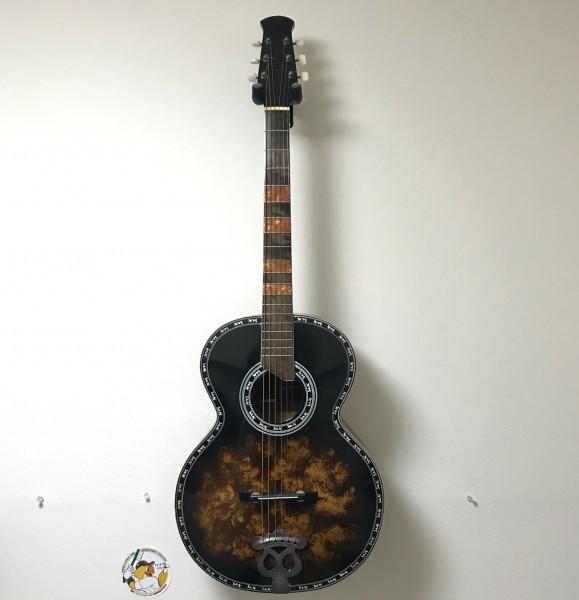 【アコースティックギター】Maruha GUITAR No.56 螺鈿細工 ネック調整歴あり ビンテージギター  マルハ ハードケース付き