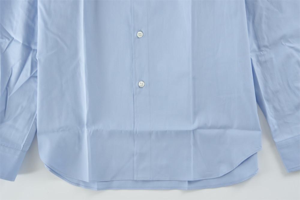 新品 18-19AW COMME des GARCONS SHIRT BOYS 【 コムデギャルソン シャツ ボーイズ 】バックロゴプリントシャツ ライトブルー S_画像5