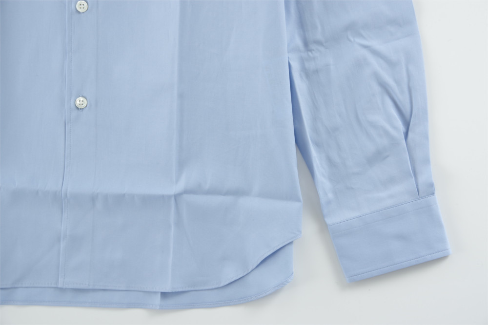 新品 18-19AW COMME des GARCONS SHIRT BOYS 【 コムデギャルソン シャツ ボーイズ 】バックロゴプリントシャツ ライトブルー S_画像6