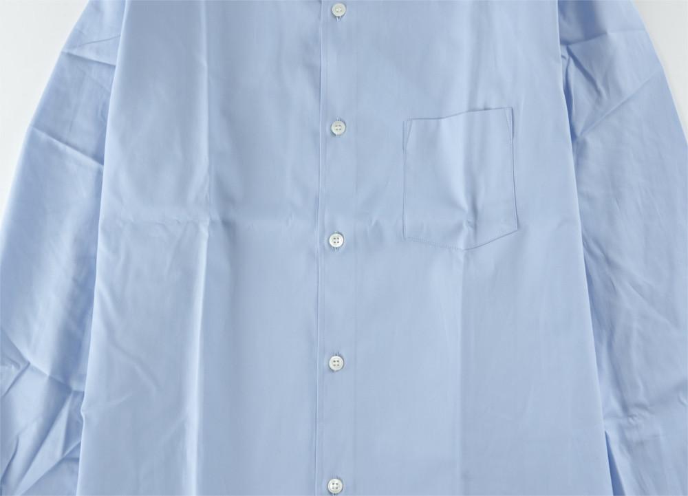 新品 18-19AW COMME des GARCONS SHIRT BOYS 【 コムデギャルソン シャツ ボーイズ 】バックロゴプリントシャツ ライトブルー S_画像4
