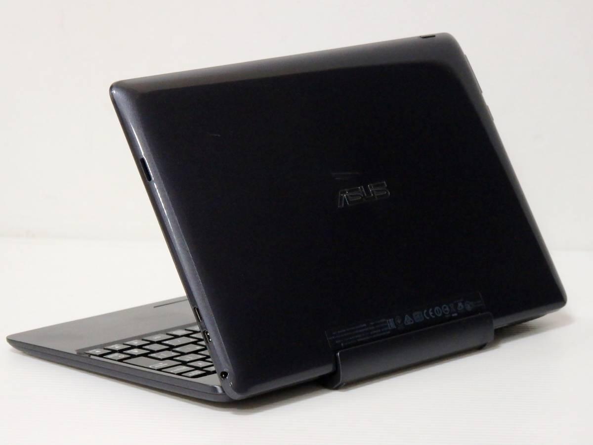 美品 ASUS TransBook T100TA-DK32G【Atom Z3735G★SSD 32GB】軽量 薄型◆Windows 10 ◆10.1型W LED/無線 Wi-Fi/カメラ/USB3.0/ACアダプター_画像3