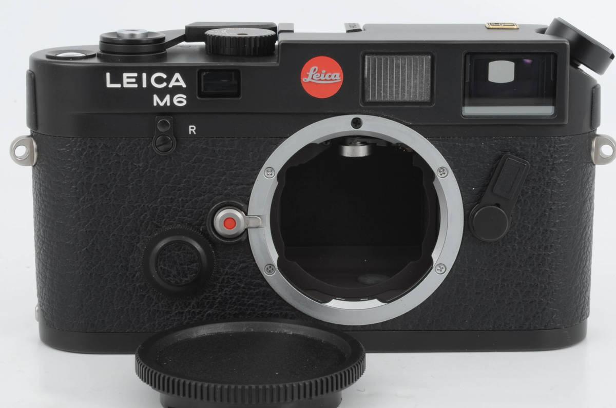 新品同様★ライカ M6 ブラックボディ 元箱 ケース付き 大人気のフィルムカメラ レンジファインダー (333-R49)_画像2