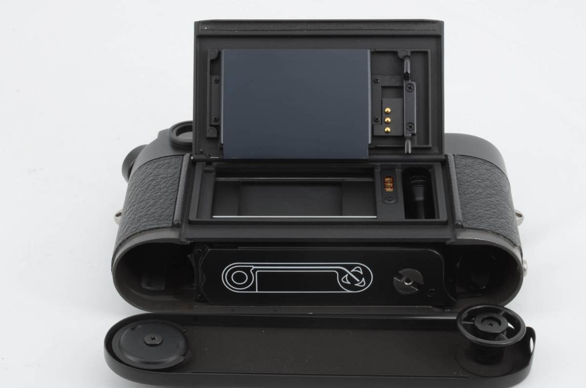新品同様★ライカ M6 ブラックボディ 元箱 ケース付き 大人気のフィルムカメラ レンジファインダー (333-R49)_画像8