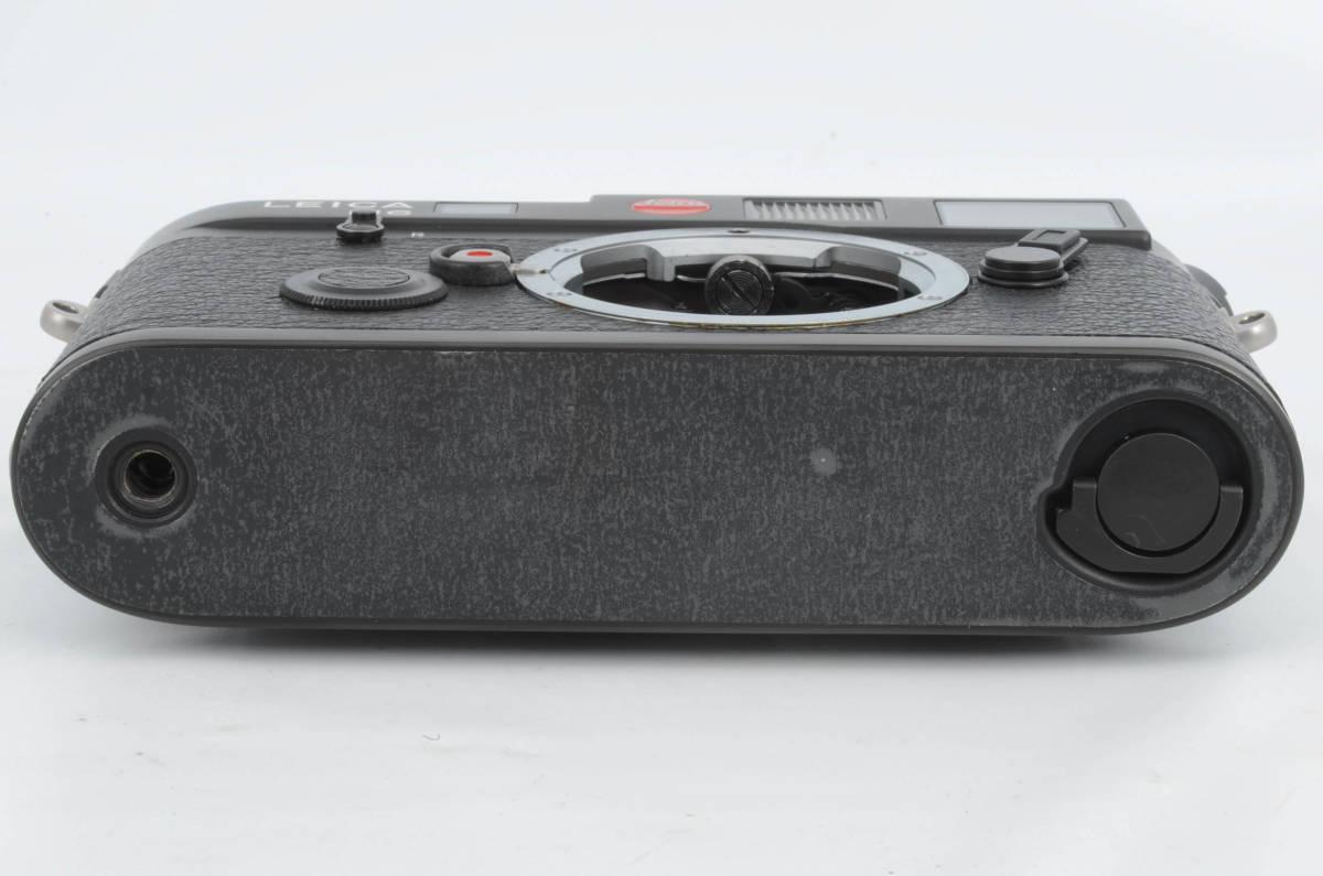 新品同様★ライカ M6 ブラックボディ 元箱 ケース付き 大人気のフィルムカメラ レンジファインダー (333-R49)_画像5