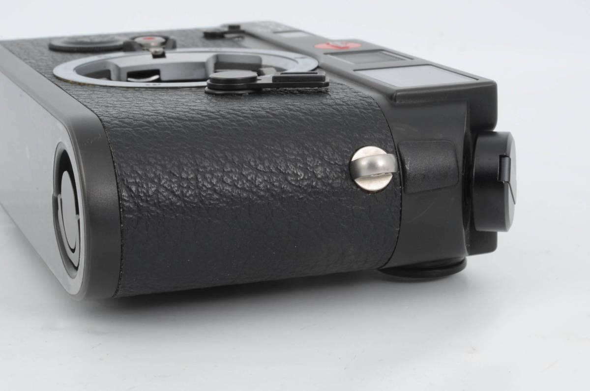 新品同様★ライカ M6 ブラックボディ 元箱 ケース付き 大人気のフィルムカメラ レンジファインダー (333-R49)_画像6