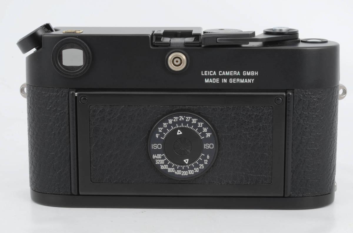 新品同様★ライカ M6 ブラックボディ 元箱 ケース付き 大人気のフィルムカメラ レンジファインダー (333-R49)_画像4