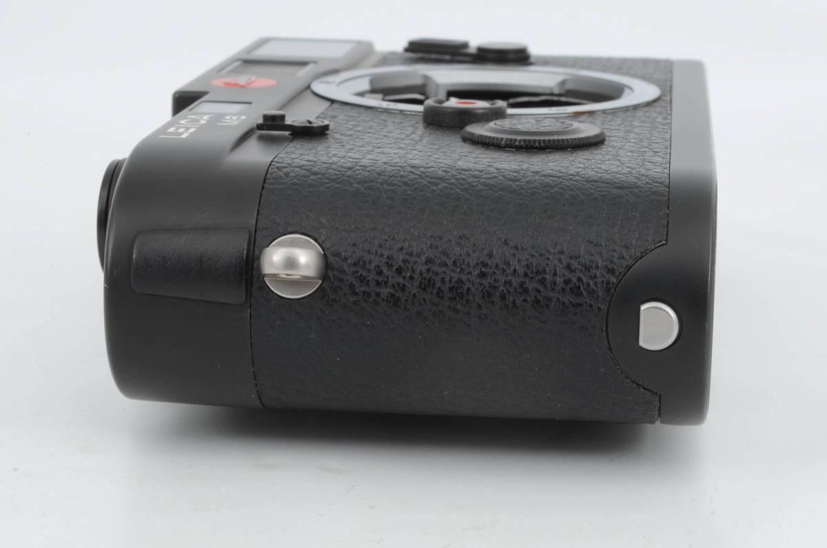 新品同様★ライカ M6 ブラックボディ 元箱 ケース付き 大人気のフィルムカメラ レンジファインダー (333-R49)_画像7