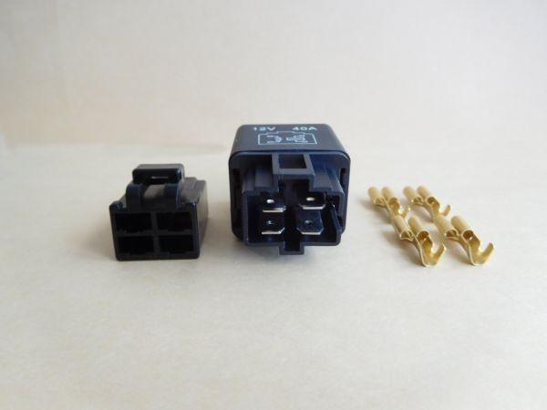 4極リレー 4P 12V 40A (検 ウインカー テールランプ ヘッドライト_画像2