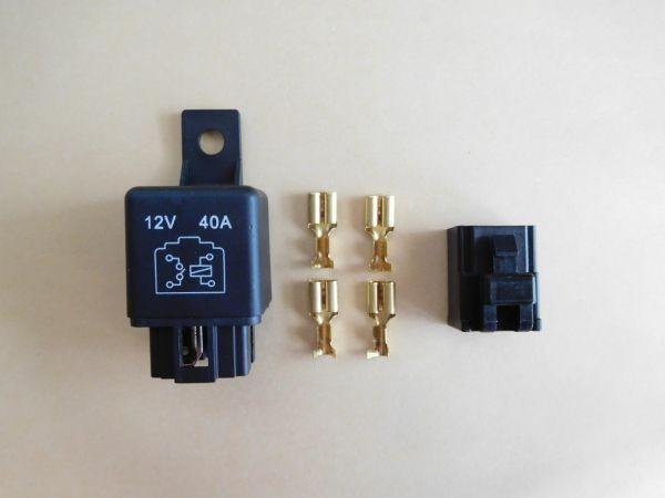 4極リレー 4P 12V 40A (検 ウインカー テールランプ ヘッドライト_画像1