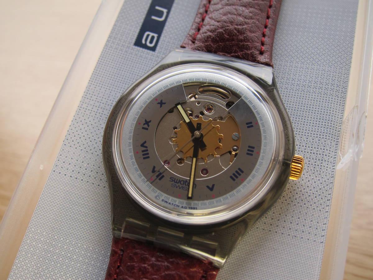 ☆Swatch スウォッチ オートマチック 91年 RUBIN 未使用☆_画像1
