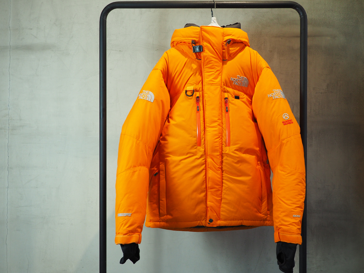 new goods THE NORTH FACE SUMMIT HIMALAYAN PARKA ~CONE ORANGE