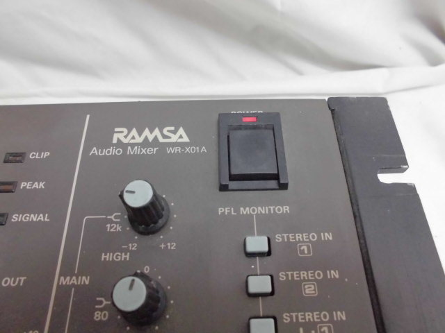 Panasonic RAMSA Audio Mixer  オーディオ ミキサー パナソニック_画像2