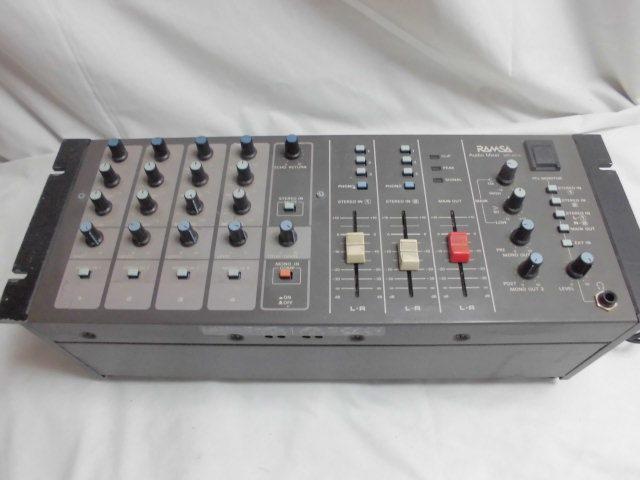Panasonic RAMSA Audio Mixer  オーディオ ミキサー パナソニック_画像4