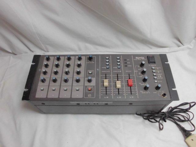 Panasonic RAMSA Audio Mixer  オーディオ ミキサー パナソニック_画像1