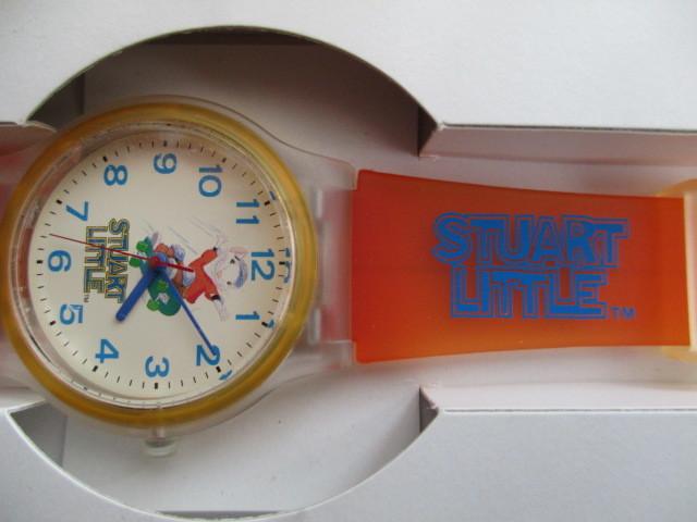 懸賞当選品 未使用 ★スチュアート・リトル STUART LITTLE ★腕時計_画像2