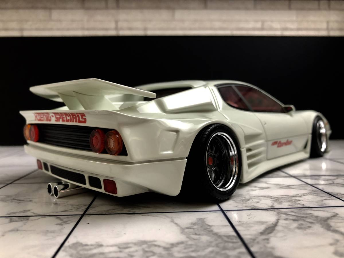 1/18 フェラーリ 512BBi TURBO KOENIG-SPECIALS BBS-LM 改 カスタム