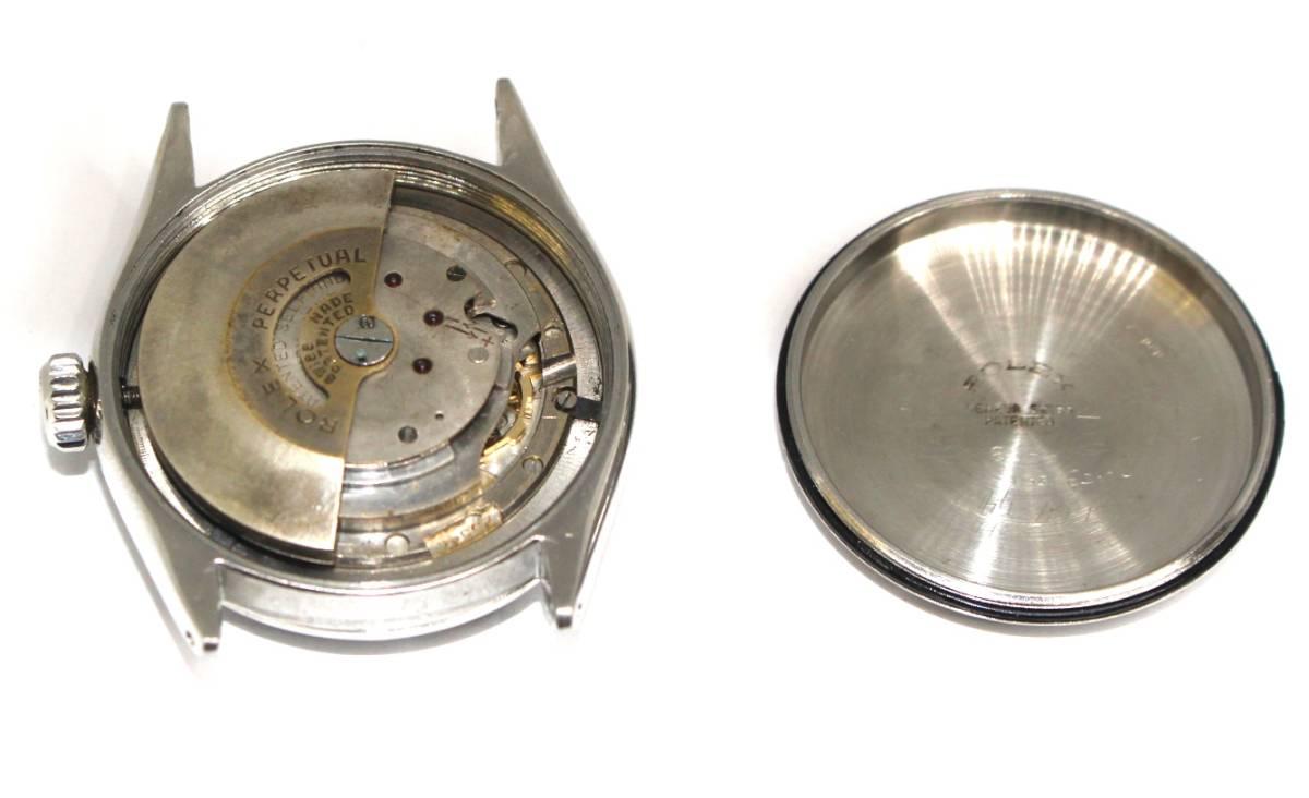 ROLEX【6285】通称セミバブル 1958年製 自動巻きCAL.260搭載_画像9