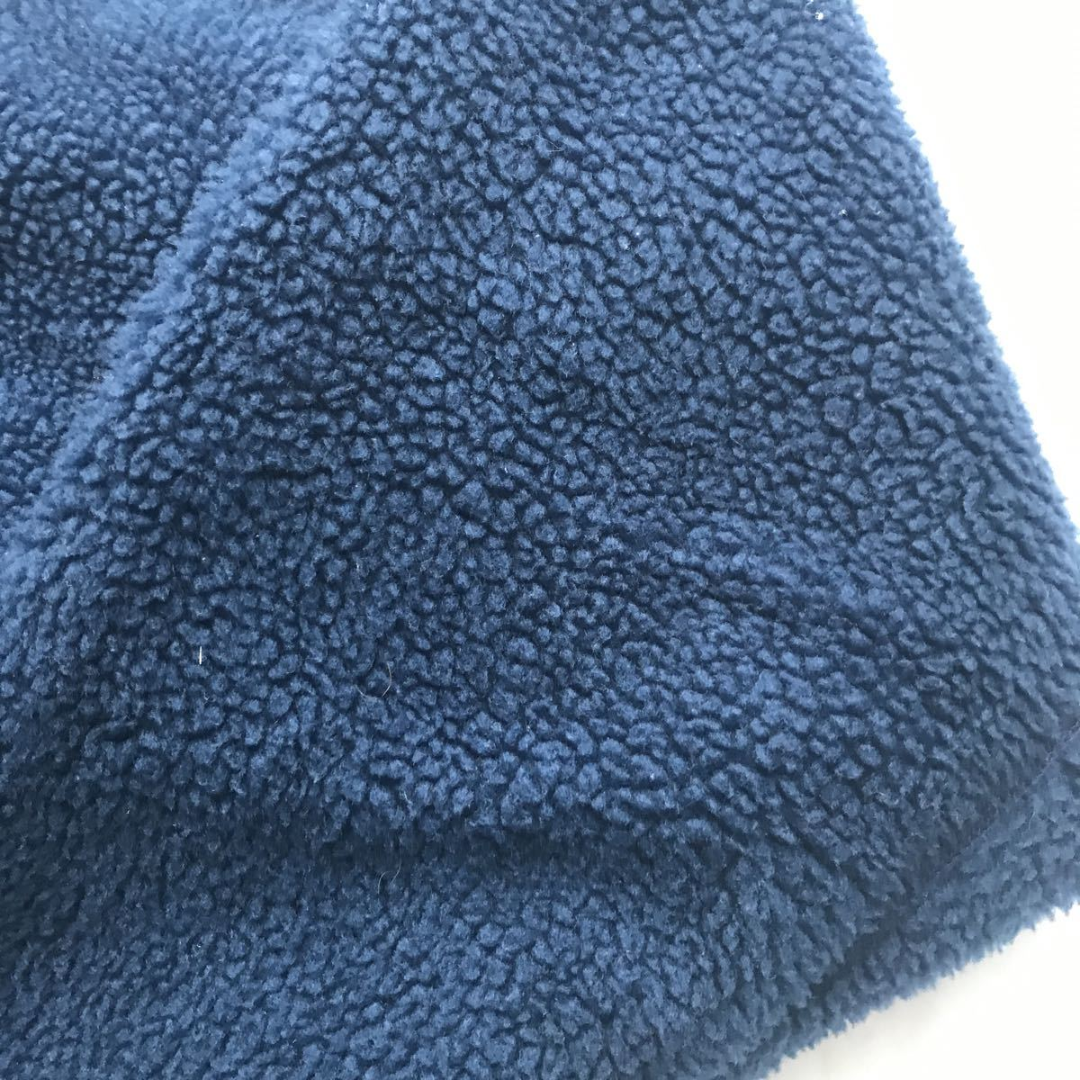 【雪無しタグ】パタゴニア patagonia ベビー レトロ カーディガン 94年USA製 インクブルー サイズ XL 検 ダス スナップT_画像7