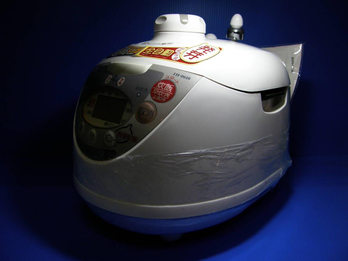 新品未使用?発芽名人 IH-0610 超高圧炊飯器 発芽玄米ダイエット超高圧圧力鍋発芽名人DXCUCKOO発芽玄米炊飯器1,7気圧 圧力名人IH_画像3
