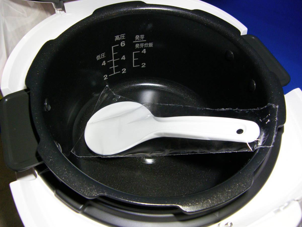 新品未使用?発芽名人 IH-0610 超高圧炊飯器 発芽玄米ダイエット超高圧圧力鍋発芽名人DXCUCKOO発芽玄米炊飯器1,7気圧 圧力名人IH_画像5