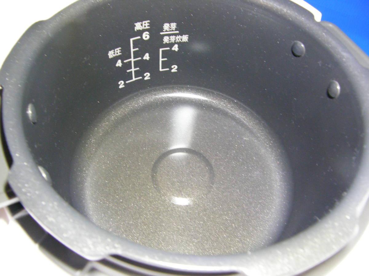 新品未使用?発芽名人 IH-0610 超高圧炊飯器 発芽玄米ダイエット超高圧圧力鍋発芽名人DXCUCKOO発芽玄米炊飯器1,7気圧 圧力名人IH_画像6