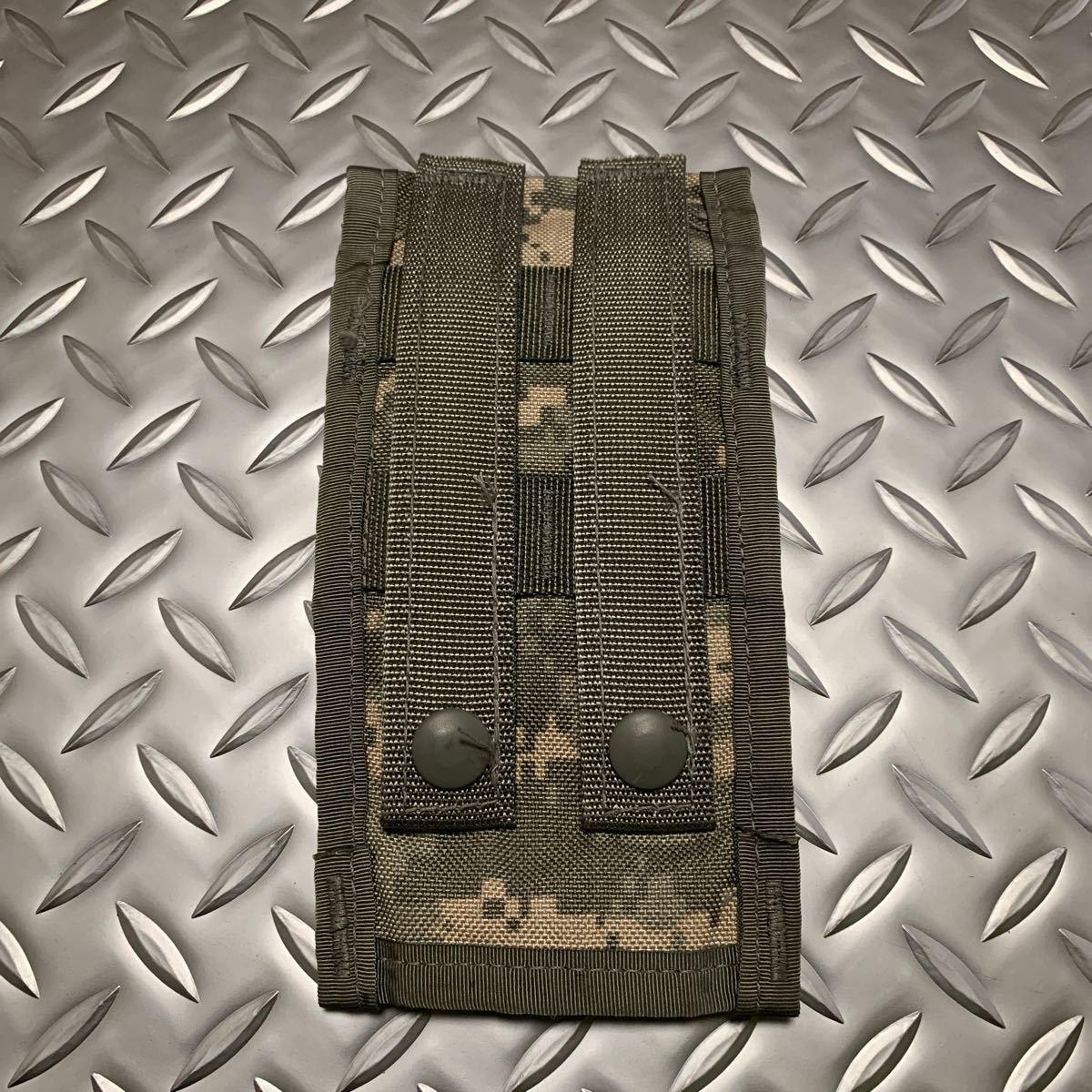 実物 米軍 放出品 ACU Molle ダブルマガジン ポーチM4/M16用 ARMY 陸軍_画像2