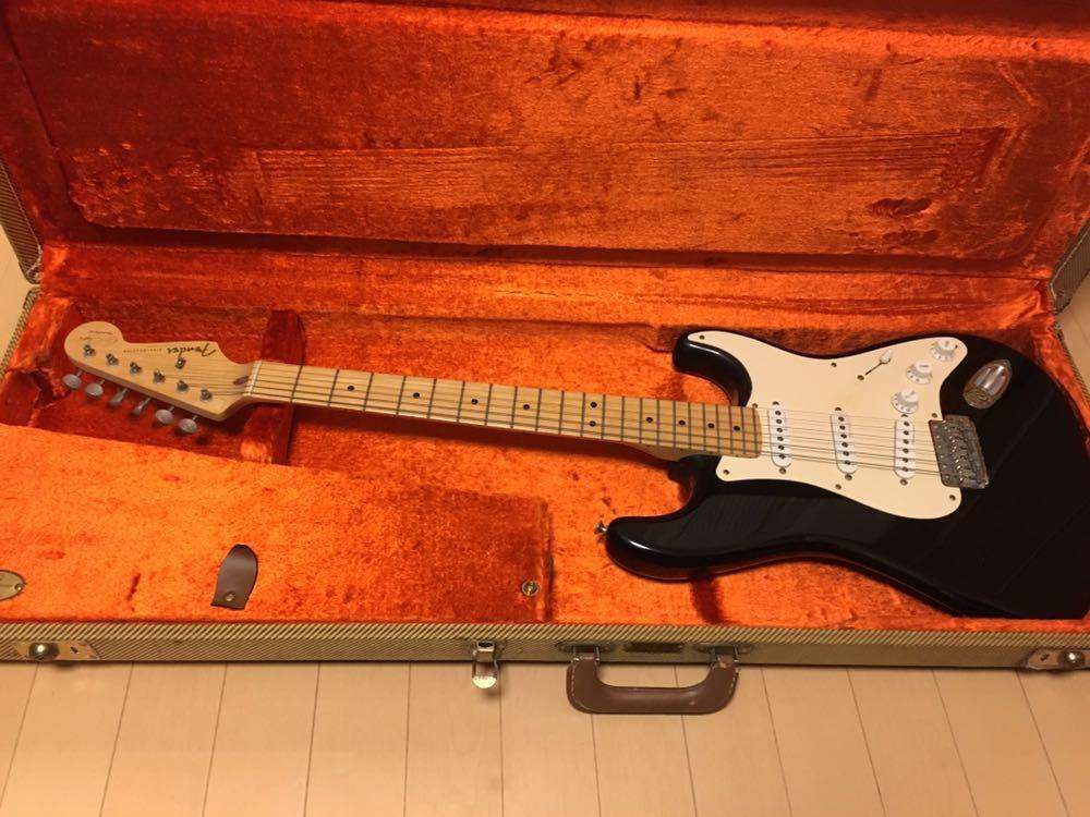 美品Fender USA / Eric Clapton Stratocaster Black【S/N SZ7077019】