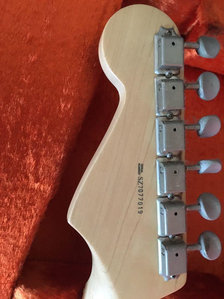 美品Fender USA / Eric Clapton Stratocaster Black【S/N SZ7077019】_画像4