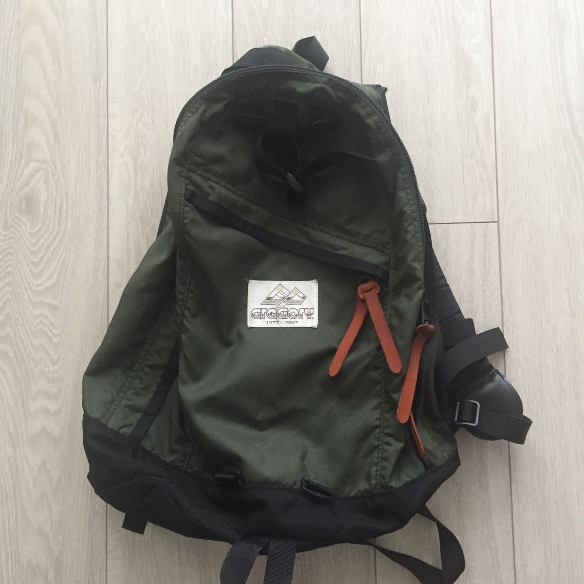70738b5c467e 中古 グレゴリー デイパック リュックサック30周年 記念モデル 旧ロゴ Gregory day pack backpack
