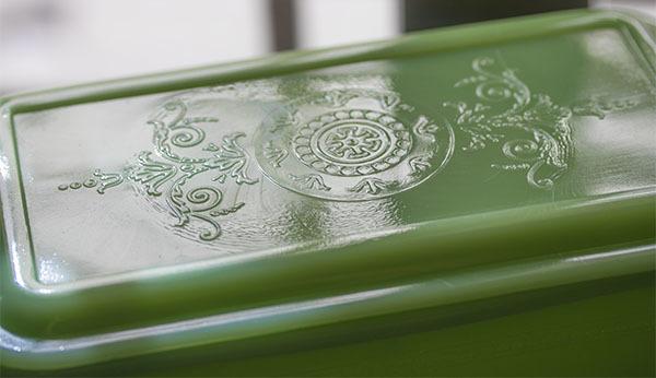 美品! ファイヤーキング ジェダイ フィルビー レフリジレーター ラージサイズ ローフパン 保存容器 ビンテージ_画像3