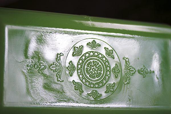 美品! ファイヤーキング ジェダイ フィルビー レフリジレーター ラージサイズ ローフパン 保存容器 ビンテージ_画像7