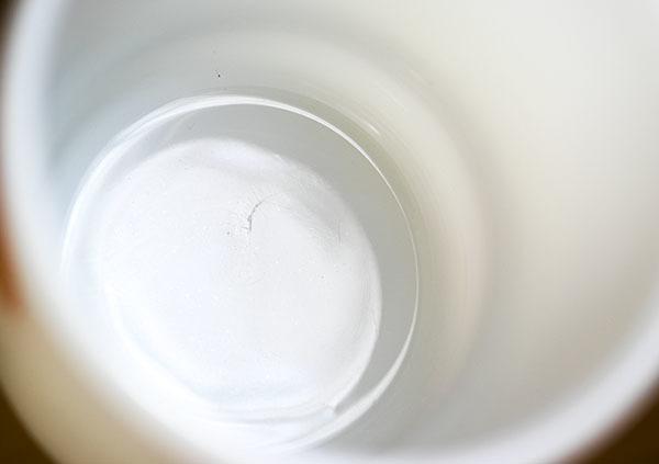 美品! ファイヤーキング マグ マクドナルド マック スタッキング 耐熱 ミルクグラス コーヒー_画像4