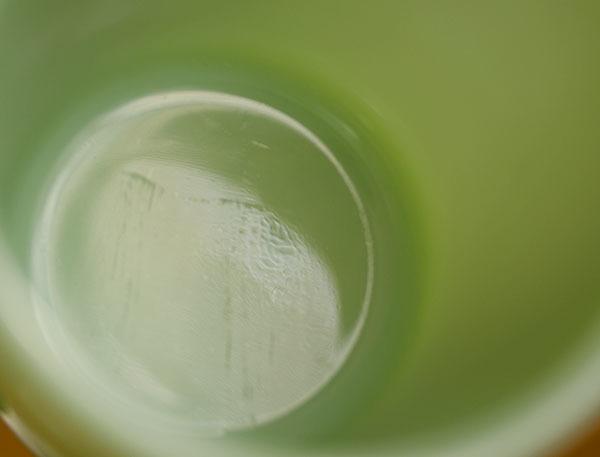 美品! ファイヤーキング マグ ジェダイ Dハンドル 耐熱 ミルクグラス コーヒー ビンテージ アメリカ製 キッチン 雑貨  _画像4
