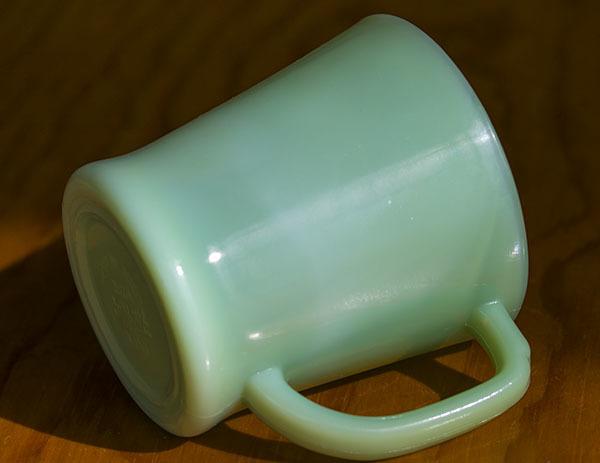 美品! ファイヤーキング マグ ジェダイ Dハンドル 耐熱 ミルクグラス コーヒー アメリカ ビンテージ ココア_画像2