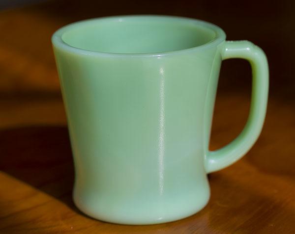 美品! ファイヤーキング マグ ジェダイ Dハンドル 耐熱 ミルクグラス コーヒー アメリカ ビンテージ ココア