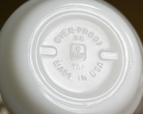ミント! ファイヤーキング マグ カントリーラブ 牛 カウ 9オンス 耐熱 ミルクグラス コーヒー カントリー_画像3