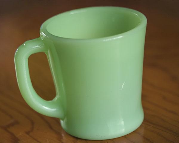 美品! ファイヤーキング マグ ジェダイ Dハンドル 耐熱 ミルクグラス コーヒー ビンテージ アメリカ製 キッチン 雑貨  _画像5