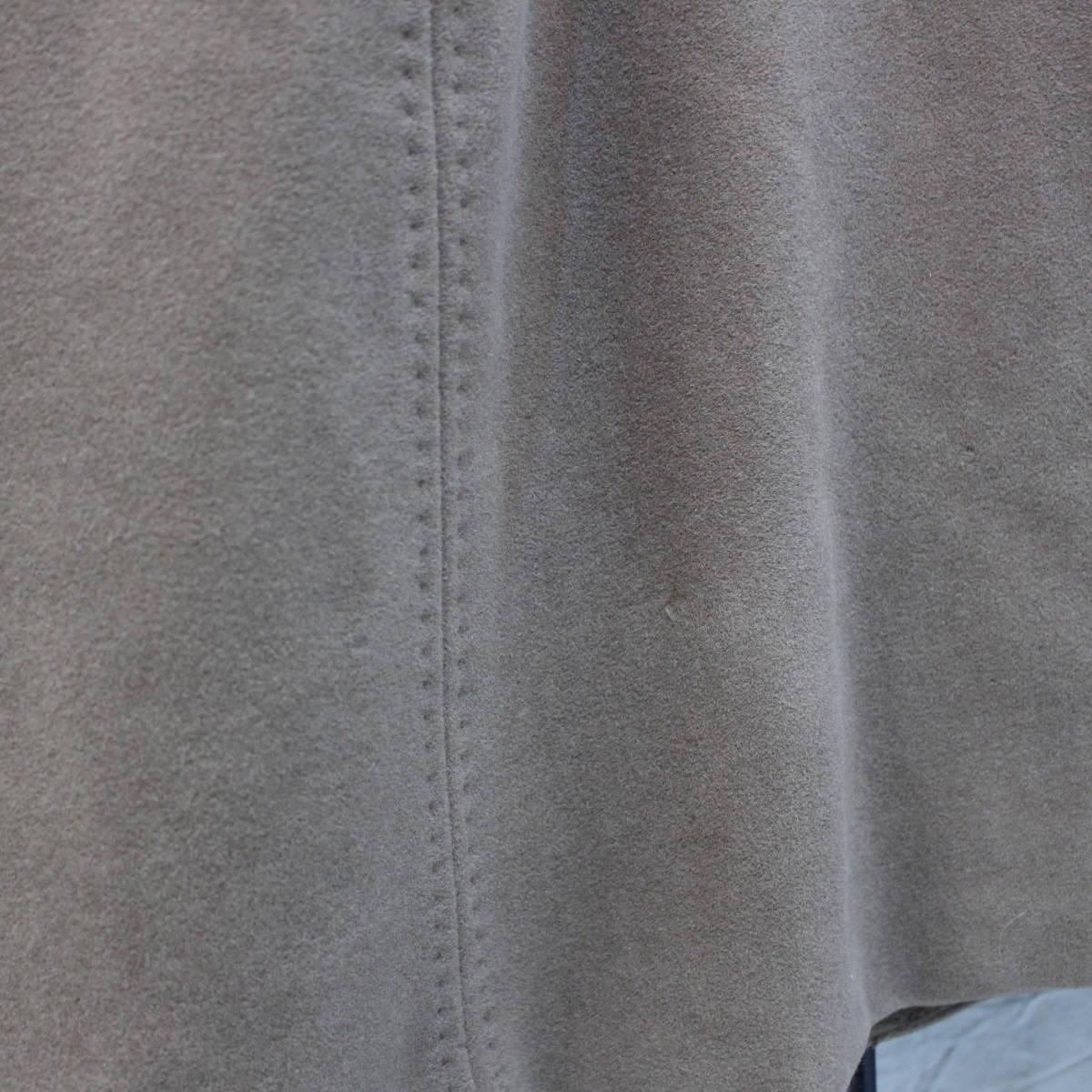 MAX MARA WHITE TAG ANGORA BREND WOOL SHAWL COLLAR OVER COATマックスマーラ白タグアンゴラ混ショールカラーオーバーコート_画像5