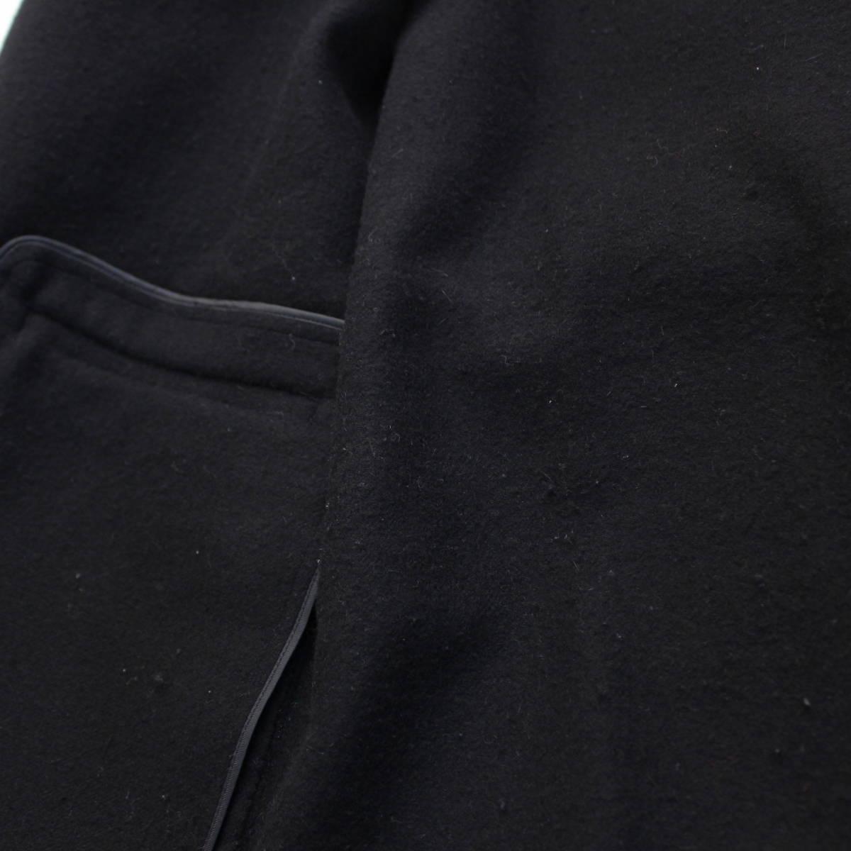 S'MAX MARA ANGORA BREND WOOL BELTED FOODED COAT/エスマックスマーラアンゴラ混ウールベルテッドフーデッドコート_画像6