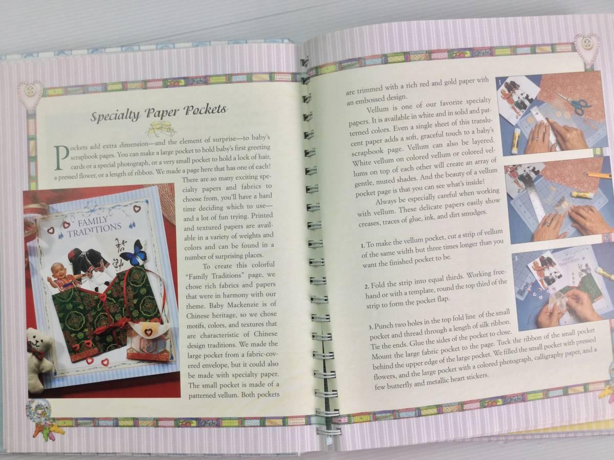 ■ARTBOOK_OUTLET■ 4-009 ★ 赤ちゃん ベビー スクラップブック 写真 アルバム 手作り BABY'S SCRAPBOOK Judy Pelican 未使用品_画像5