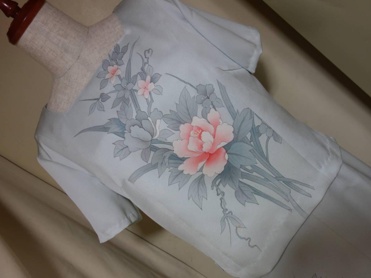 着物リメイク★未仕立ての訪問着からドレス、ジャケット、ブラウス3点セット★11号_画像7
