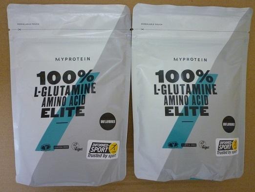 マイプロテイン L-グルタミン エリート ノンフレーバー 500g×2 計1kg