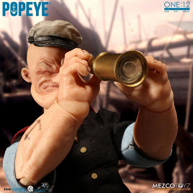 ワン12コレクティブ/ POPEYE: ポパイ 1/12 アクションフィギュア_画像7